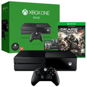 Xbox One 500GB, Wi-Fi + Gears of War 4