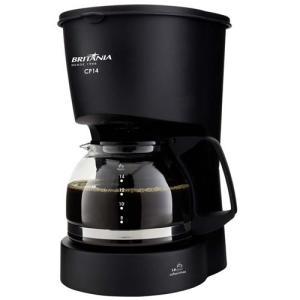Cafeteira Elétrica Britânia CP14 até 14 Cafés - Preta - R$ 16