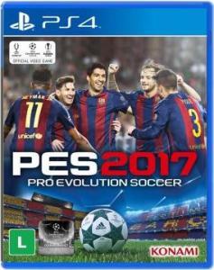 Jogo Pro Evolution Soccer 2017 (PES 17) PS4  - R$ 85