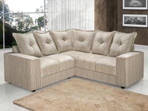 Sofá de Canto 4 Lugares Fênix - American Comfort - R$560