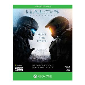 Halo 5: Guardians Xbox One Midia - R$39