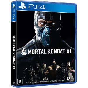 Game Mortal Kombat XL - PS4 - Cartão Submarino - R$ 89,90