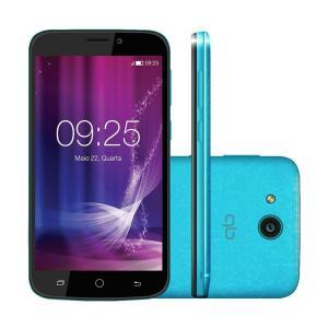 Smartphone Qbex Snap X Azul A5 Tela 4,5´´, 8gb, 5mp
