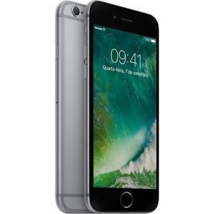 "iPhone 6s 32GB Cinza Tela Retina HD 4,7"" 3D Touch Câmera 12MP - Apple - R$2064"