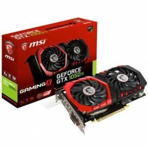 Placa de Vídeo MSI GeForce GTX 1050 TI 4GB GAMING X - R$720