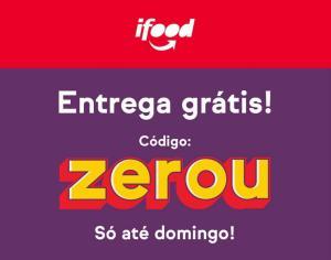 iFood - Cupom de Entrega Grátis até Domingo