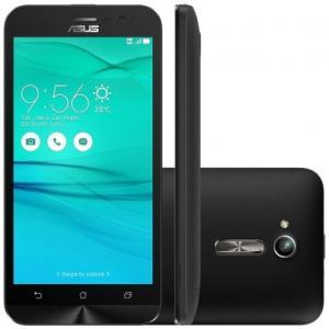 """Smartphone Asus Zenfone Go ZB500KG Tela 5"""" 3G Preto ou Dourado - R$ 339,90"""