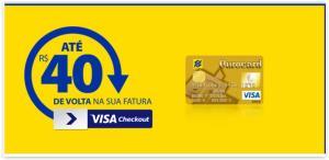 Compre usando seu Cartão OuroCard Visa e Ganhe até R$ 40 de Volta