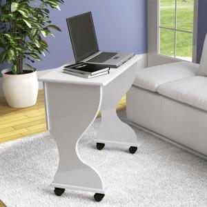 Mesa para Computador Dobravel C27 Bb Branco Brilho - Dalla Costa - R$98