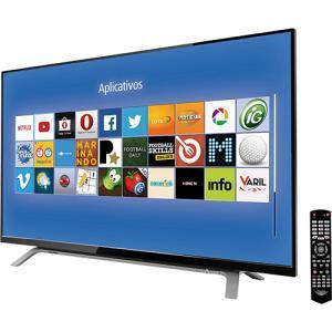 """Smart TV LED 40"""" Toshiba 40L2500 Full HD com Conversor Digital 2 HDMI 1 USB 60Hz"""