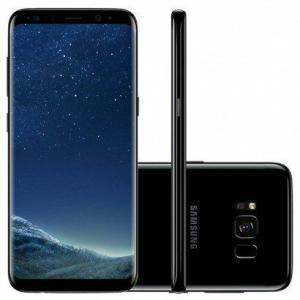 Samsung Galaxy S8 PRETO - 4GB RAM 64GB - R$ 2798