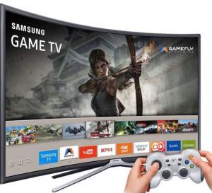 "Smart TV LED Tela Curva 40"" Samsung - R$1.563"