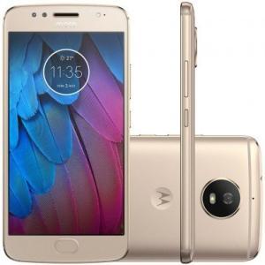 Smartphone Motorola Moto G5S 32GB XT1792 Desbloqueado Ouro