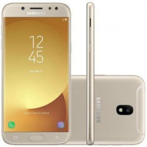 Smartphone Samsung Galaxy J5 Pro 4G J530G Desbloqueado Dourado e Preto