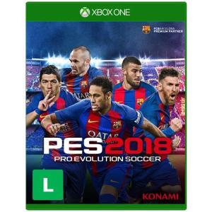 Jogo Pro Evolution Soccer 2018 - Xbox One - R$187