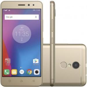 Smartphone Lenovo Vibe K6 32GB 4G Dual Desbloqueado Dourado - R$600