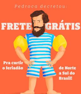 Frete grátis para todo o Brasil na Chico Rei