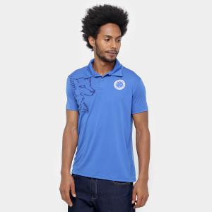 Camisa Polo Cruzeiro Fox Lines - Azul - R$ 30