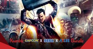 Humble Bundle Capcom X Sega X Atlus - R$3
