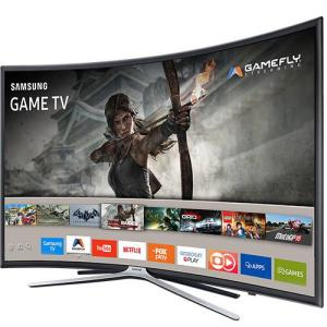 "[Cartão Shoptime] Smart TV LED Tela Curva 40"" Samsung 40K6500 Full HD 3 HDMI 2 USB - R$1439"