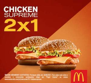 Compre 2 Chicken Supreme e pague 1