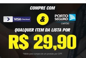 [Cartão porto Seguro] Qualquer item por R$ 29.90