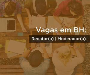 Vagas para Redator(a)/ Moderador(a) no Pelando para Belo Horizonte