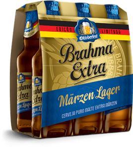 Brahma Extra Märzen cerveja nova por R$ 21
