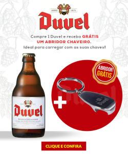 Duvel - Compre 1 e Ganhe o Abridor por R$ 20