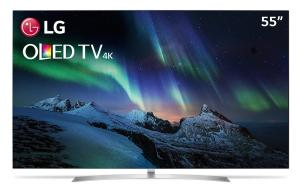 TV 55'' OLED LG B7P Ultra HD 4K + TV 43'' LED LG LJ5550 Full HD Smart - R$7.649