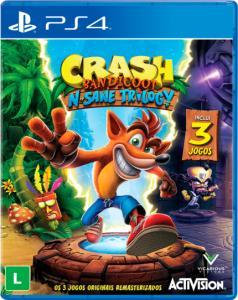 Crash Bandicoot N'sane Trilogy - SARAIVA - R$87