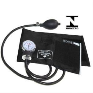 Esfigmomanômetro Aneróide Manual G-Tech - Aprovado pelo INMETRO - Premium ESFH20PR - R$45