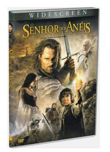 DVD - O Senhor dos Anéis : O Retorno do Rei - R$ 2,99