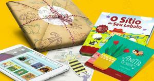 Promoção de mês das crianças Leiturinha! 1 KIT GRÁTIS