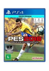 Game Pro Evolution Soccer 2018 - PES 2018 - PS4 - R$147