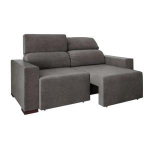 Sofá 3 lugares reclinável Agatha - R$563,91