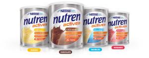 Nutren Active - Suplemento Alimentar c/ 2 Latas de 400g Cada - R$ 44,59