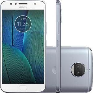 "Smartphone Motorola Moto G5s Plus XT1802 Dual Chip Tela 5.5"" 4G Android 7.1 13MP 32GB - Desbloqueado - R$1179"