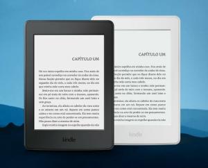 [Amazon] Kindle e Kindle Paperwhite com R$110,00 de desconto e frete grátis - Kindle 8ª Geração R$189, Kindle Paperwhite R$369