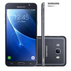 Smartphone Samsung Galaxy J7 Metal 16GB Preto - R$630
