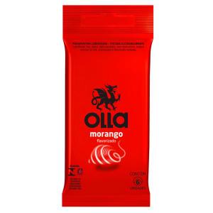 Ganhe 50% OFF na compra da segunda unidade de preservativos OLLA - 2 por R$12