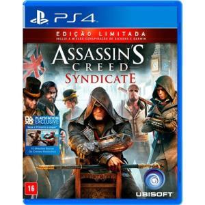 Jogo PS4 Assassin's Creed Sindycate - Edição Limitada - R$ 78