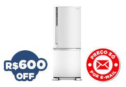 Geladeira PANASONIC Frost Free NR-BB52 Branco 423L - R$ 2799