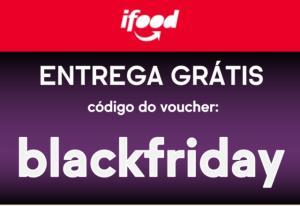 Entrega grátis + 30% de desconto no iFood