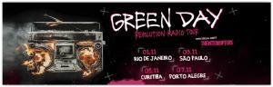 [Curitiba e Porto Alegre] Show do Green day a partir de R$ 60