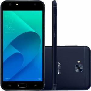 "Smartphone Asus  Zenfone 4 Selfie, Preto, ZD553KL, Tela de 5.5"", 32GB, 16MP por R$ 1088"