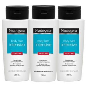 Kit com 3 Hidratantes Corporais Neutrogena - R$29,70