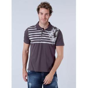 Camisa Polo Masculina Sba - Marrom - R$20