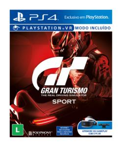 Jogo para Ps4 Gran Turismo Sports - R$ 144,00