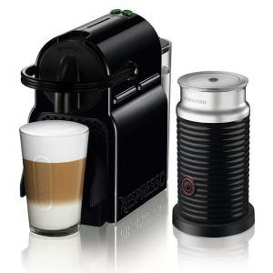 Nespresso Inissia Combo 19 Bar com 16 Cápsulas Aeroccino 220V- Preta - R$387